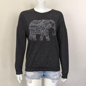 BOGO🎉 Zoe + Liv grey elephant sweatshirt